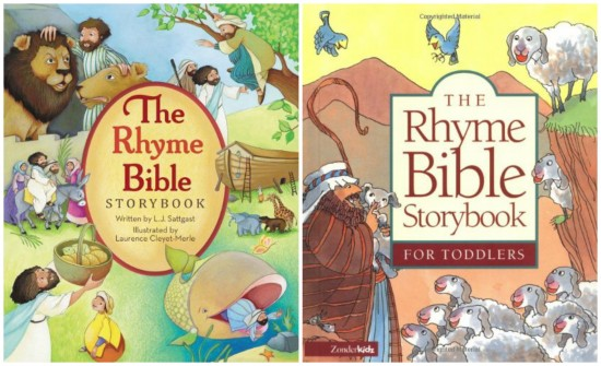 Play Through The Bible: A Toddler's Introduction to God's Story {Toddler Bible choices}