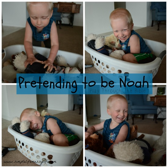 Noah - Play Through The Bible - Toddler Bible Lessons - www.simplelifemessylife.com