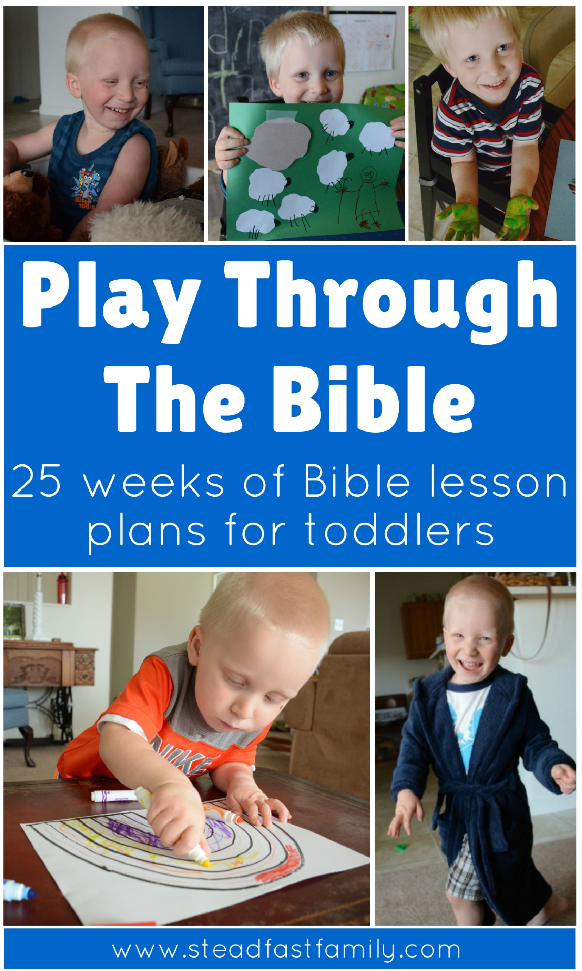 Play Through The Bible Is A Super Fun Series Chronicling All Activities We Did As Worked Our Way Childrens At Toddler Level