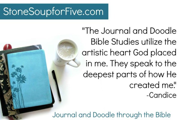 Journal and Doodle Through The Bible