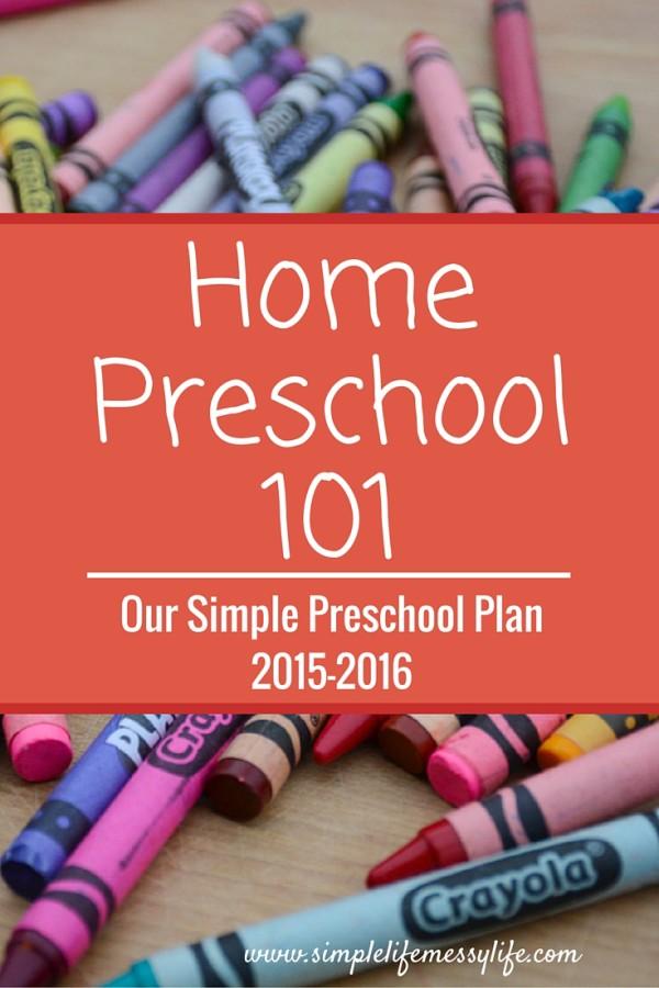 preschool plan