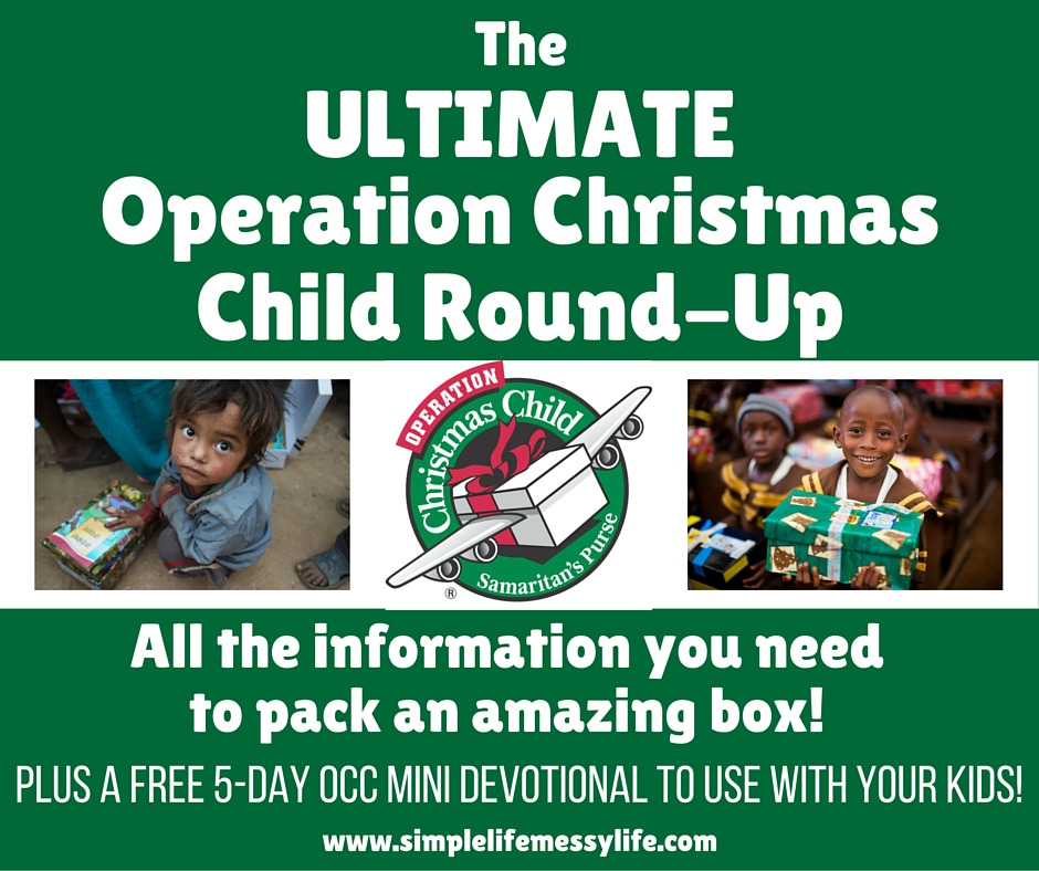 Operation Christmas Child Round-Up
