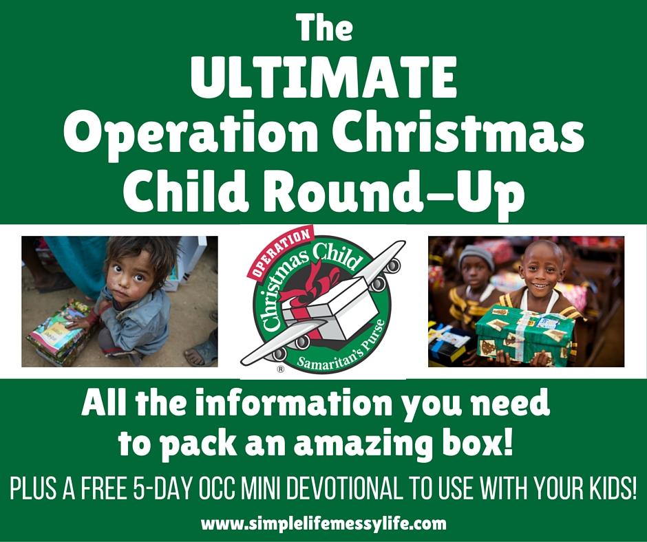 Operation Christmas Child Round-Up
