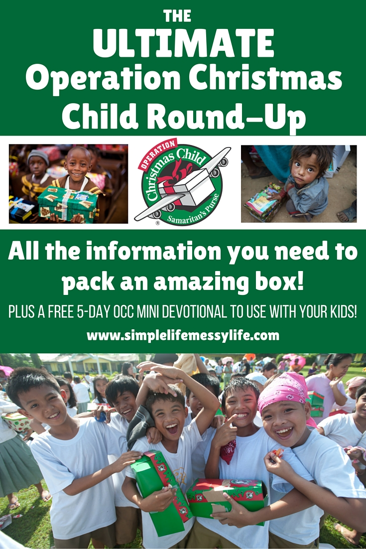 The ULTIMATE Operation Christmas Child Round-Up