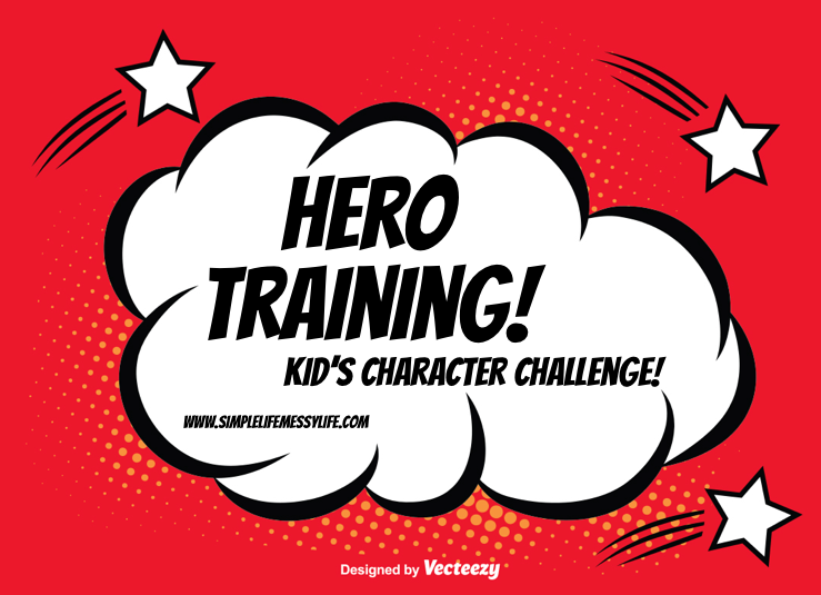 Hero Training - Kid's Character Challenge