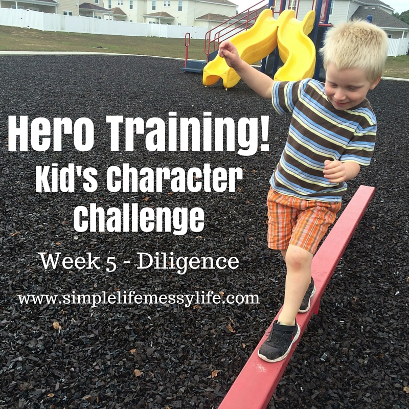 Hero Training!Kid's Character Challenge