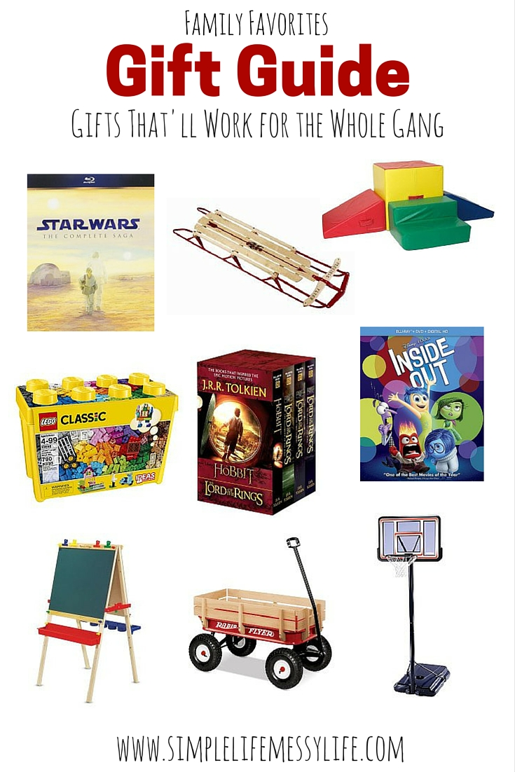 Family Gift Guide - www.simplelifemessylife.com