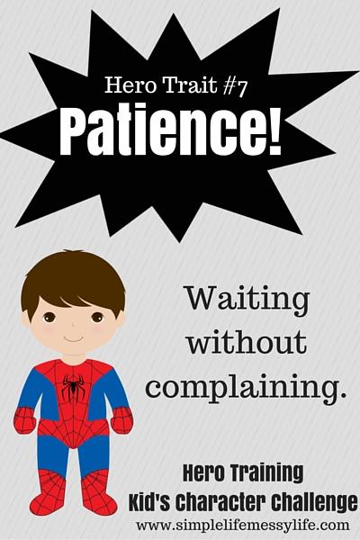 Hero Training - Kid's Character Challenge - Patience