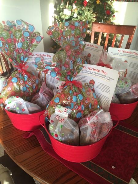 St Nicholas Day gift baskets