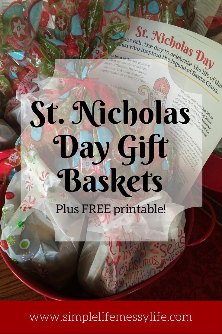 St. Nicholas Day baskets