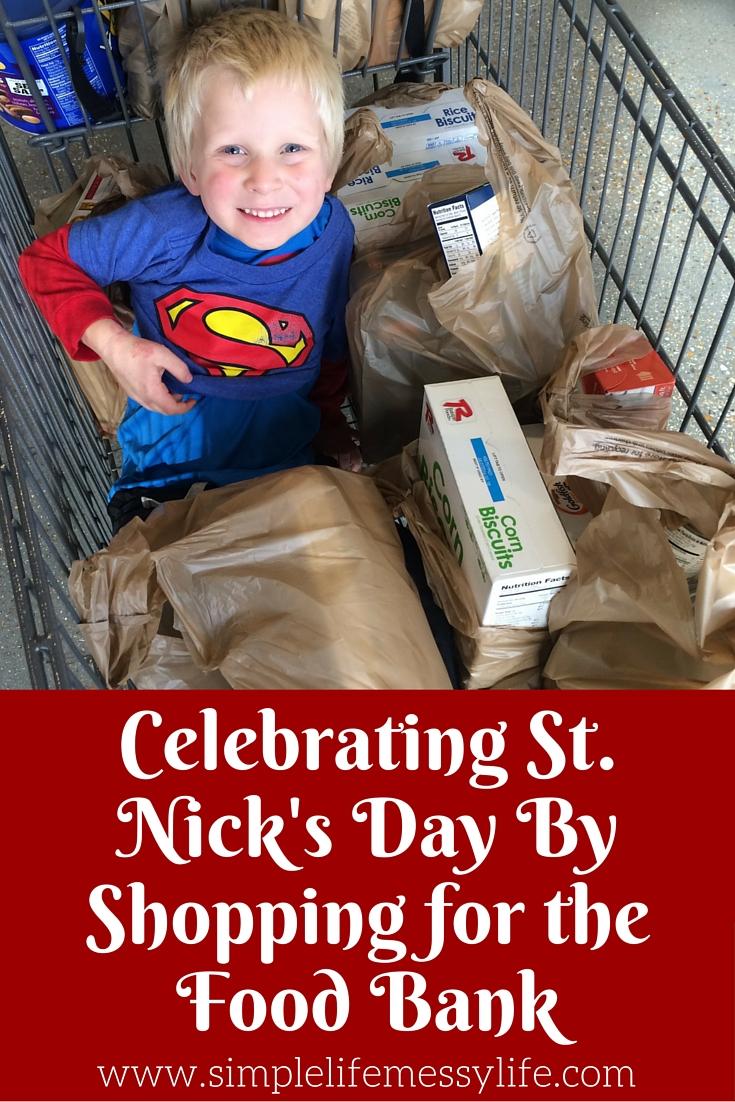 St. Nicholas Day food bank