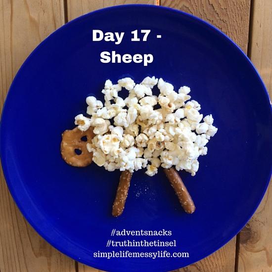 Advent Snacks day 17 - sheep
