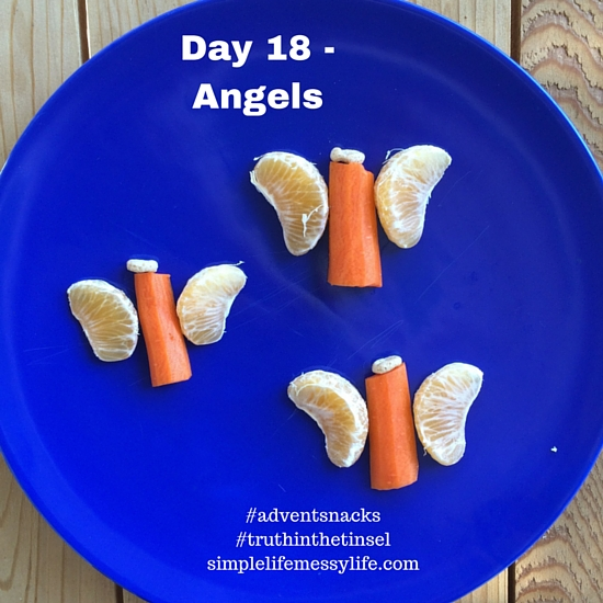 Advent Snacks day 18 - angels