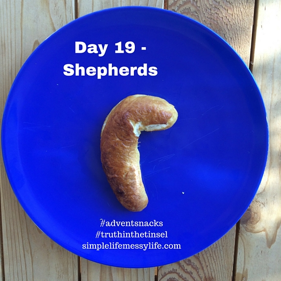 Advent Snacks day 19 - shepherds