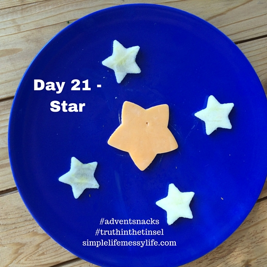 Advent snacks day 21 - star