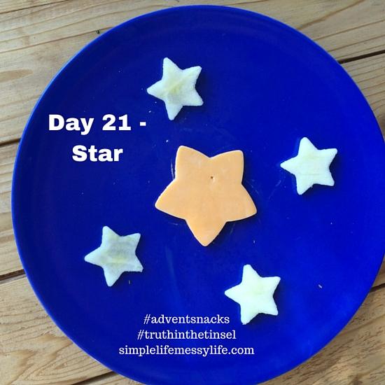 Advent snacks day 21 - star