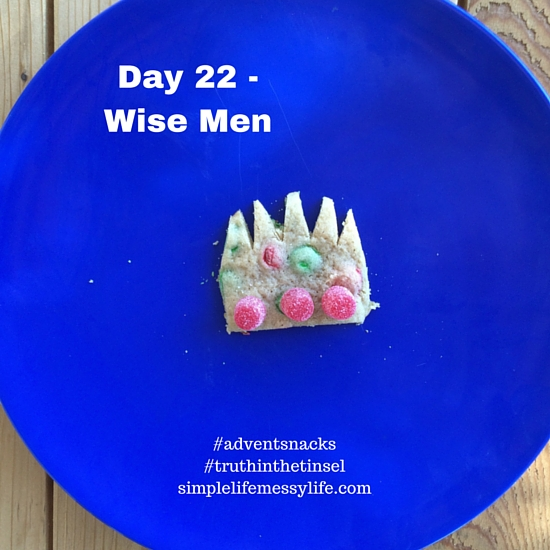 Advent Snacks day 22 - wise men