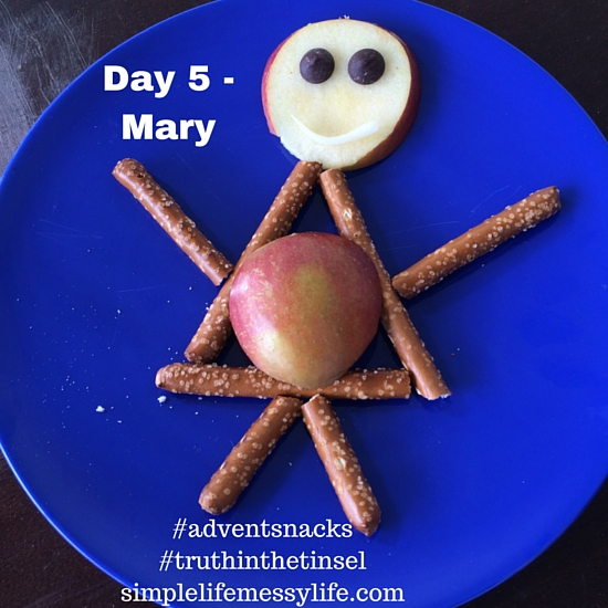 Advent Snacks - day 5 mary