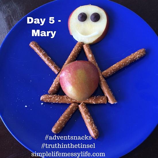 Advent Snacks - day 5 mary