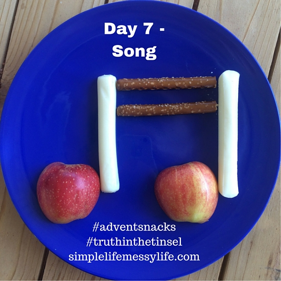 Advent snacks - day 7 - song