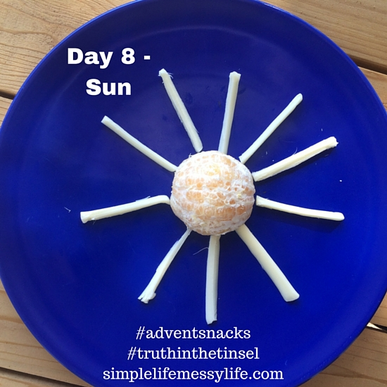 Advent Snacks - day 8 - sun