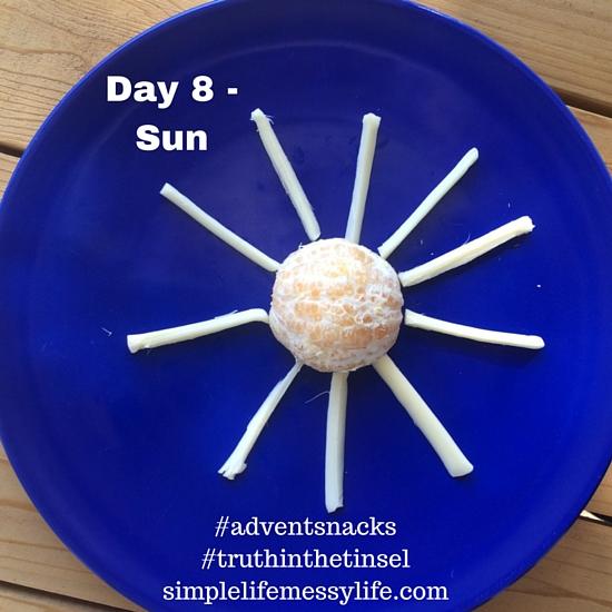Advent Snacks - day 8 - sun