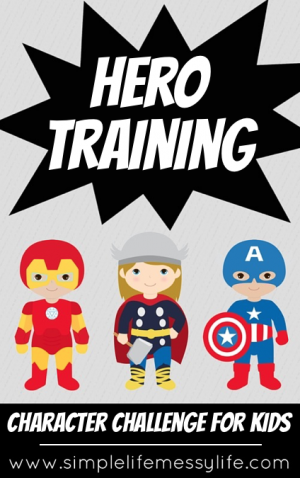 hero training graphic