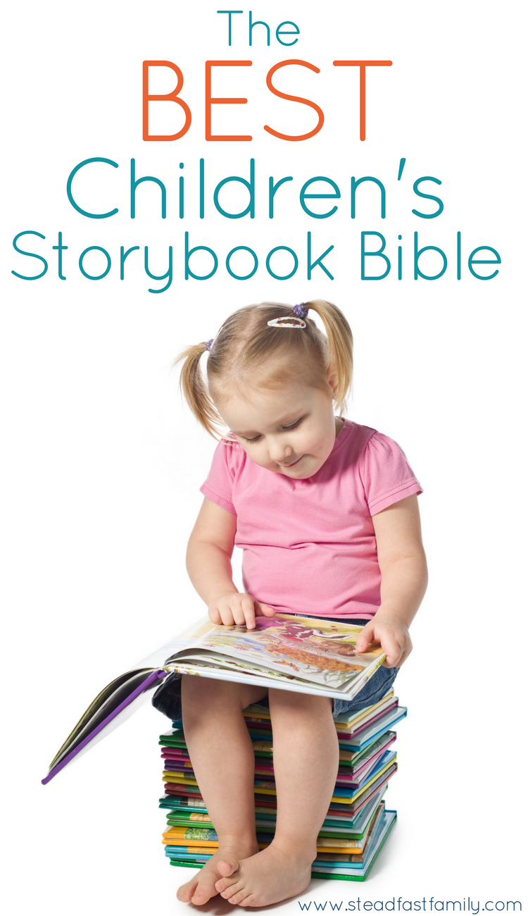 the best toddler Bible