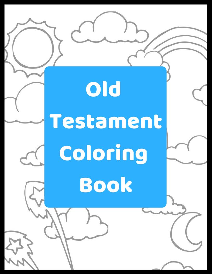 Old Testament Printable Coloring Book