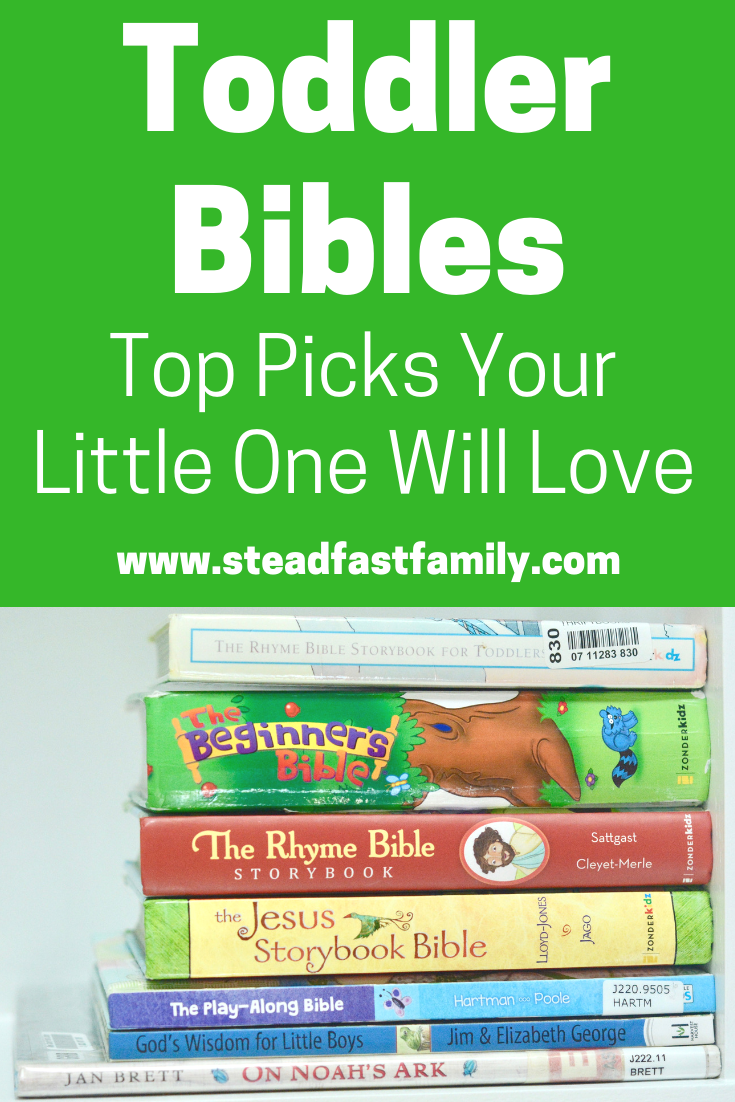 Looking for a toddler Bible? These top picks will engage the wiggliest little one!