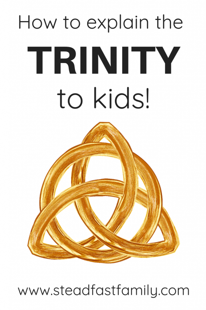 Five tips for teaching the trinity to kids