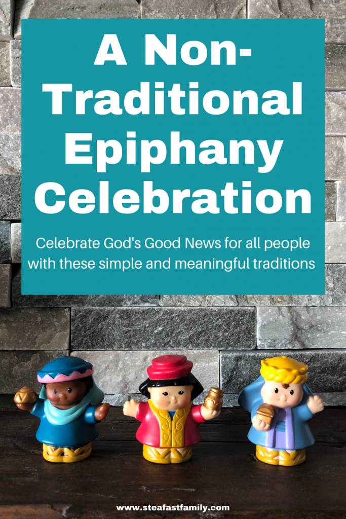 A non-Traditional Epiphany Celebration